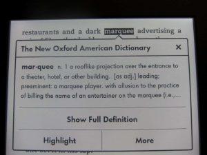 Từ điển Kindle