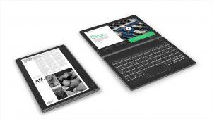 Lenovo ra mắt laptop có màn hình E Ink 1