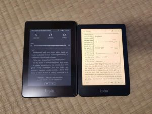 So sánh Kindle Paperwhite 4 và Kobo Clara HD 6
