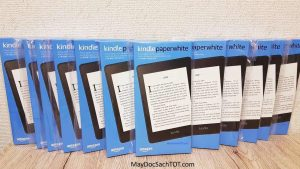 Siêu mẫu chân dài Kindle Paperwhite 4