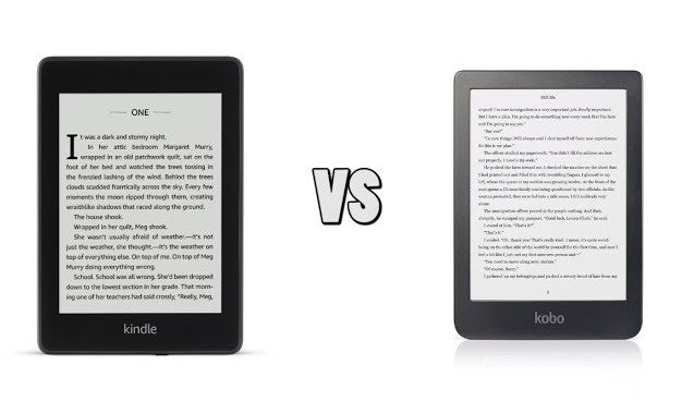 So sánh Kindle Paperwhite 4 và Kobo Clara HD 1