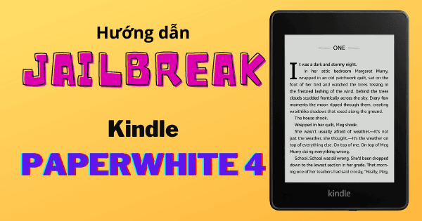 Jailbreak Kindle Paperwhite