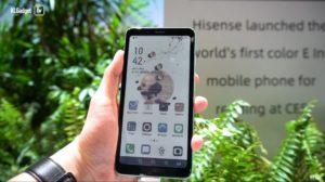 Điện thoại E Ink màu của Hisense sẽ ra mắt vào 23/4 1